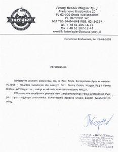 2008.05.26 - Fermy Drobiu MIZGIER Sp.j.