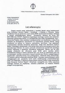 2009.01.06 - Firma Frankiewicz w Grodzisku Wielkopolskim