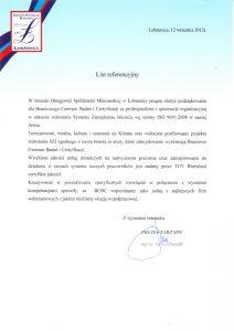2012.09.12 - Okręgowa Spółdzielnia Mleczarska - Łobżenica