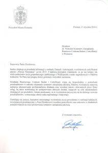 2014.01.31 Prezydent Miasta Poznania
